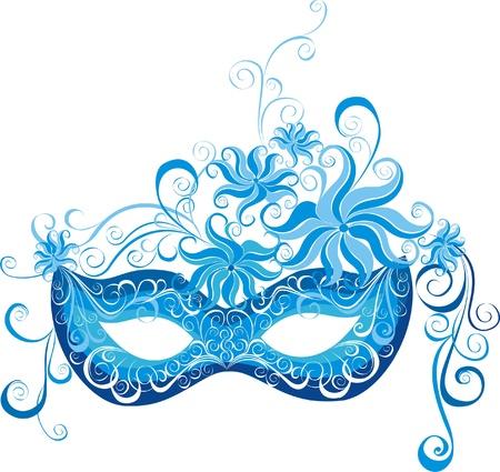 Venetiaans masker Stock Illustratie