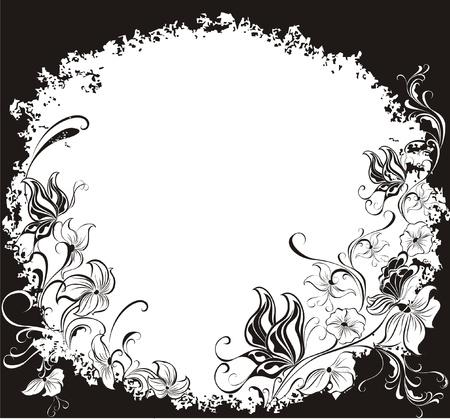 Decorative grunge summer background Vector