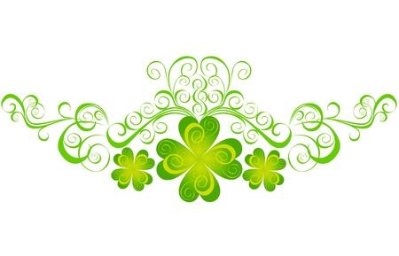 st patrick s day: Shamrock per gli elementi di giorno di San Patrizio s Vector St Patrick s