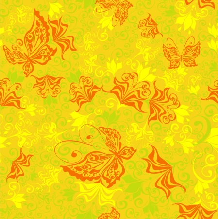 Floral seamless pattern summer seamless background Vector
