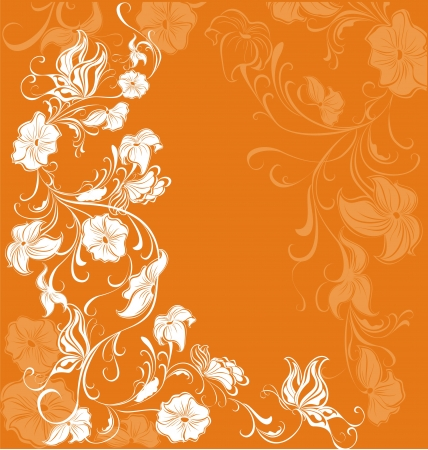 copy spase: Floral background
