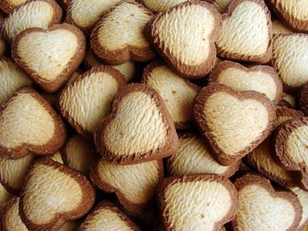 Heart shaped cookies Stock Photo - 16594372
