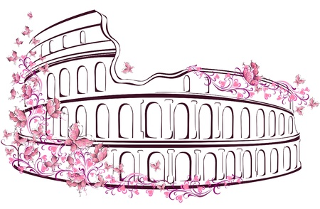 Colosseum in Rome, Italy Stock Vector - 16947827