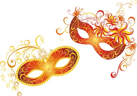 Masks for a masquerade  Vector party mask  Stock Vector - 21314809