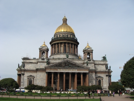 isaac s: Saint Isaac s Cathedral in Saint Petersburg Stock Photo