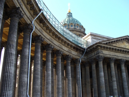 Kazan Cathedral in St  Petersburg, Russia Stock Photo - 19016084