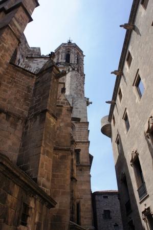 gotico: Barri Gotic Quarter en Barcelona, ??Espa?