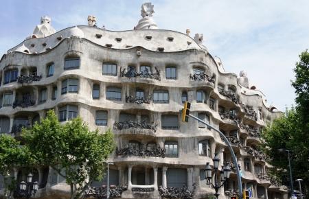 antonio: Casa Mila or La Pedrera, architect Antonio Gaudi, Barcelona, Spain