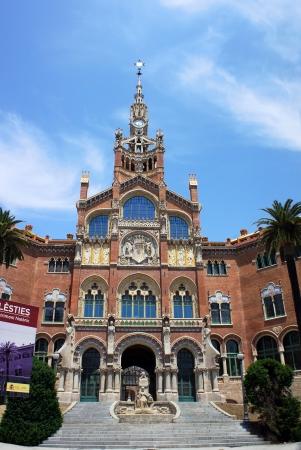 sant: Hospital de la Santa Creu i de Sant Pau, Barcelona, Spain Editorial