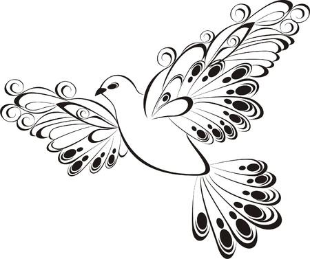 Fliegende Taube Standard-Bild - 20225677