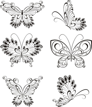 Set butterfly Stock Vector - 21314817