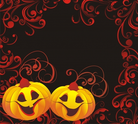 Vector halloween background Vector