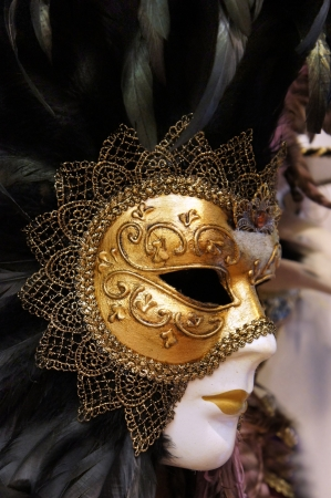 Carnivale Mask, Venice photo