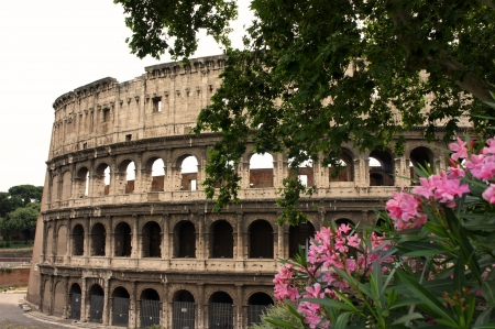 Colosseum Amphitheater in Rome photo