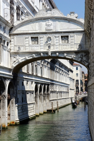 Bridge of Sighs, Venice, Italy  photo