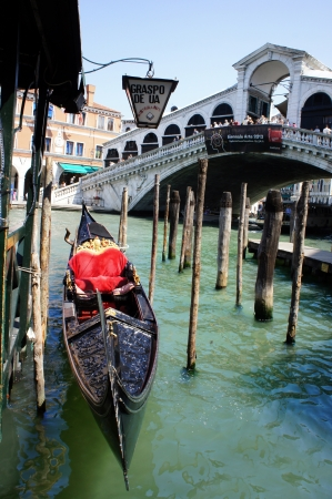 Rialto Bridge in Venices grand canal