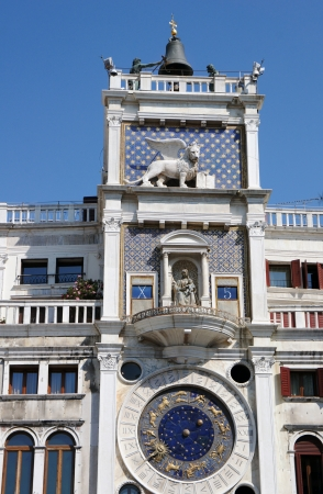 clock of the moors: Astronomical clock at San Marco Square in Venice, Italy