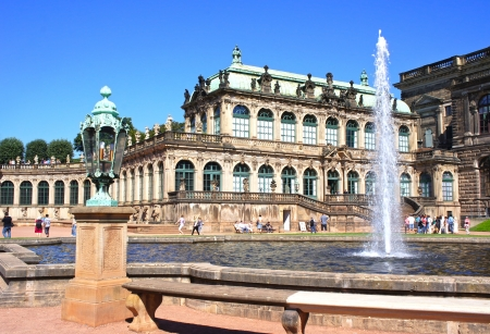 Zwinger Palace in Dresden, Germany