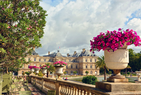 Palace in the Luxembourg Gardens, Paris, France
