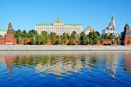 moscow: Moscow Kremlin, Moscow, Russia Stock Photo
