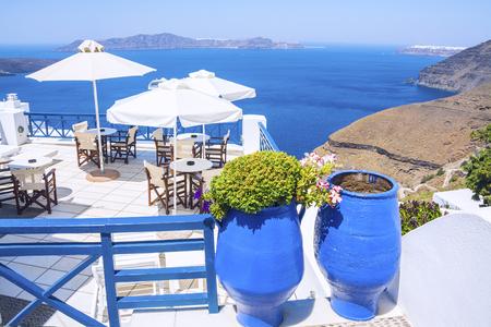 Hermosa santorini grecia grecia Foto de archivo - 88154254