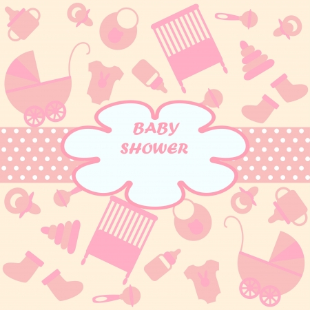 Karte für Neugeborene in scrabbook Stil