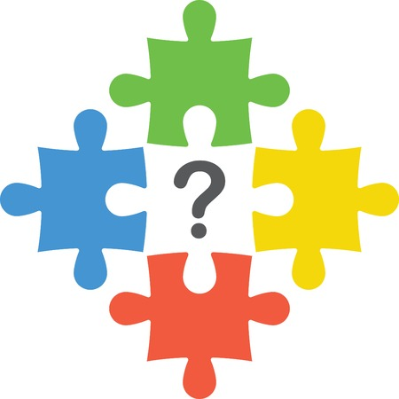 Puzzles with  question mark