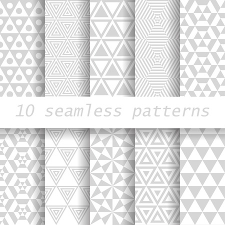 10  seamless patterns