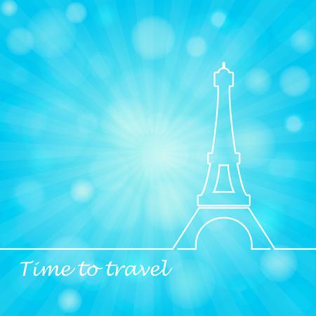 Torre Eiffel illustrazione vettoriale Archivio Fotografico - 38732050