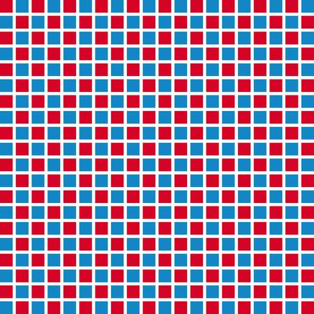 Retro style square seamless background. 向量圖像