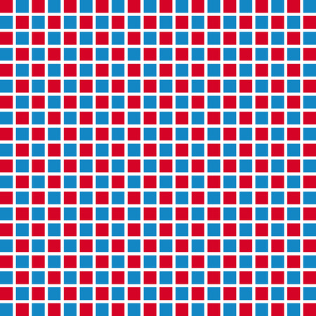 Retro style square seamless background. Illustration