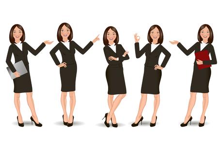 Business Girl Illustration