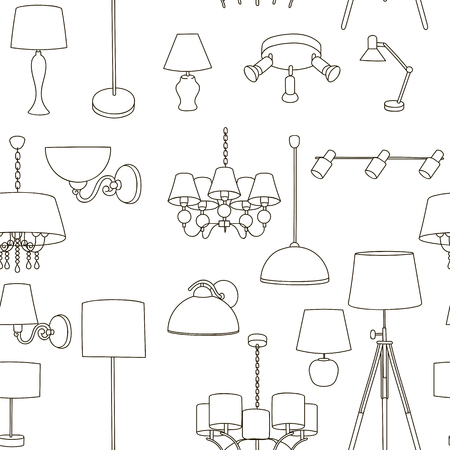 Pattern home lighting lamps, floor lamps, wall lamps.