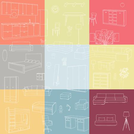 furniture: Furniture Illustration