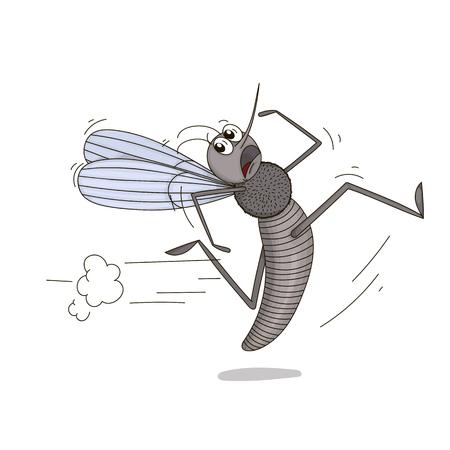 pest control: Running mosquito