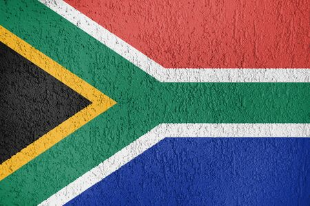The flag of the Republic of South Africa