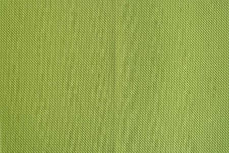 A crumpled green fabric texture Standard-Bild