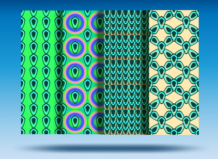 Seamless pattern background.Beautiful and noticeable. Beautiful color combination.