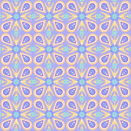 Seamless geometric pattern. Fantasy ornament. Suitable for wrapping paper, background and other decoration purposes.