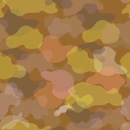 Camouflage baby seamless pattern. Abstract spotted vector khaki background. Streamlined soft forms. Printing on fabric, shoes, paper.