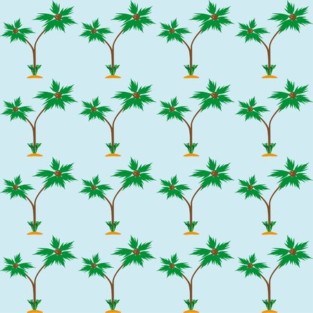 palmtree: Abstract seamless structure with palmtree Illustration