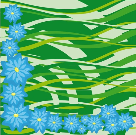 approximately: summer abstract background. Illustration.