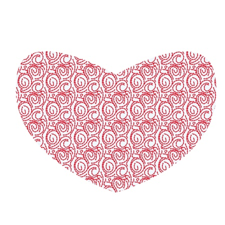 st valentin: illustration with love abstract heart
