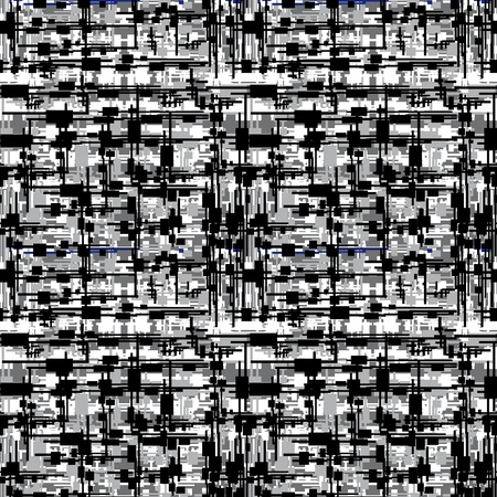 Abstract seamless structure from various squares. Vector illustration Illustration