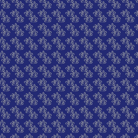 abstract seamless pattern with cirling elements on a dark-blue background