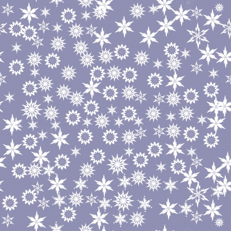 abstract seamless pattern with flowers or snowflakes. Beauty floral background Vector