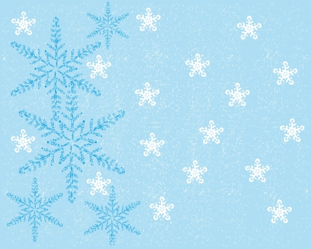 stylish abstract background of winter Vector