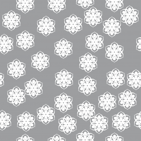 winter pattern for use in vaus festive design with beautiful snowflakes Stock Vector - 15205247