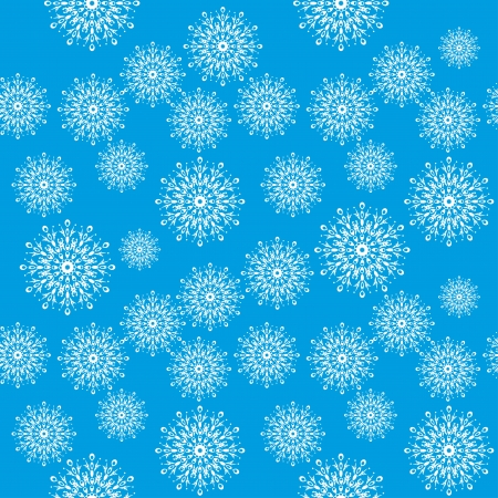 winter pattern for use in various festive design with beautiful snowflakes Stock Vector - 15205330
