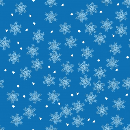 vector winter pattern with snowflakes for your design. Abstract vector background Vector